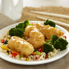 Asian Style Orange Chicken, Image by Jenny Craig
