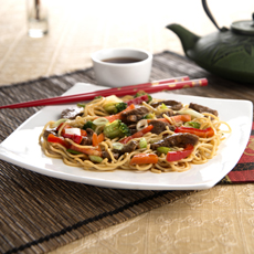 Beef Chow Mein, Image by Jenny Craig