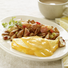 Cheddar Cheese Omelet, Image by Jenny Craig