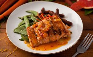 Citrus Glazed Salmon, Image by bistroMD