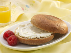 Honey Wheat Bagel, Image by Nutrisystem