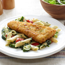 Parmesan Crusted Fish, Image by Jenny Craig