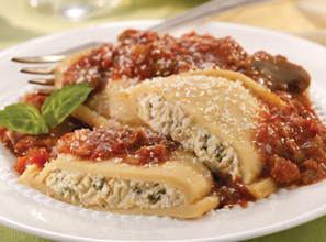 Ravioli in Meat Sauce, Image by Nutrisystem
