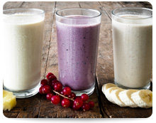 Berry Burst High Protein Smoothie, Image by MY Food