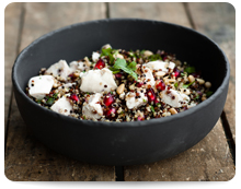 Chicken, Pomegranate & Herb Quinoa, Image by MY Food