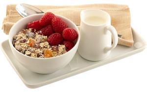 Gluten Free Fruity Oats Muesli, Image by Diet Chef