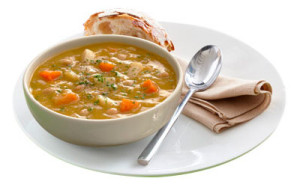Lentil & Vegetable Soup, Image by Diet Chef